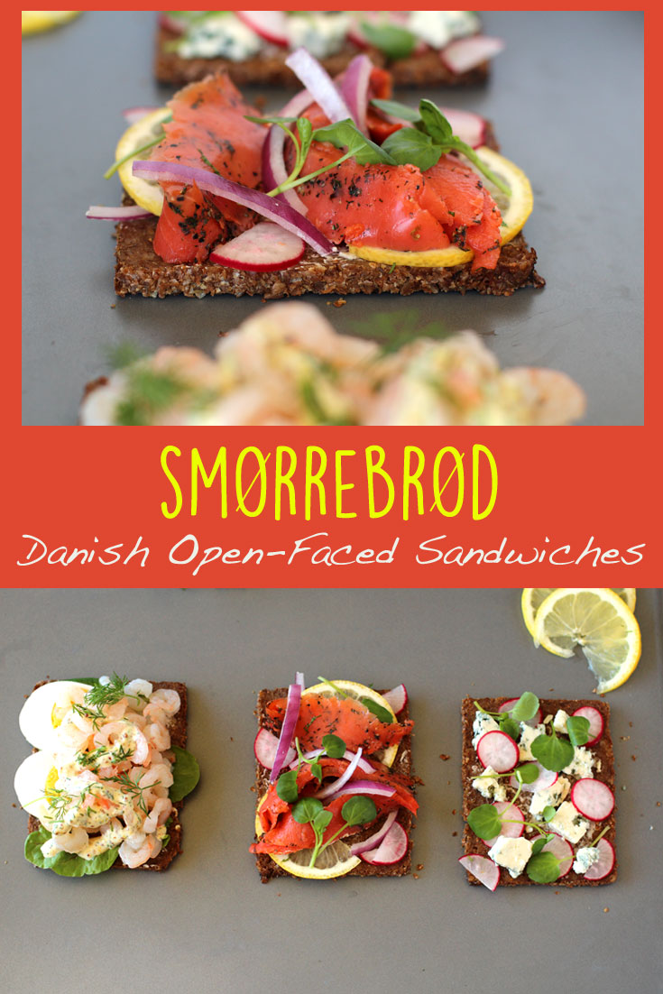 The Danish Open Faced Sandwich Called Smorrebrod