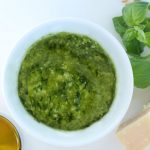 Classic Basil Pesto with a Mortar and Pestle